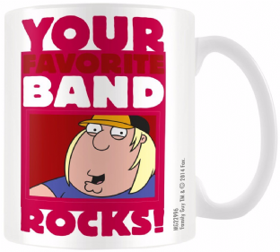 Family Guy Band - MUG (11oz) (Brand New In Box)